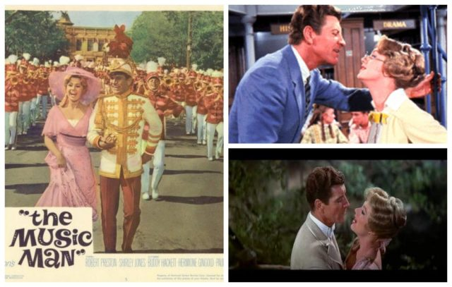 The Music Man collage