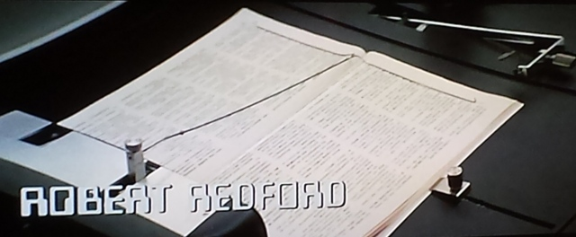 Reel Librarians  |  Screenshot from 'Three Days of the Condor'