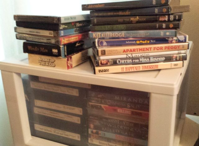 Personal collection of reel librarian films