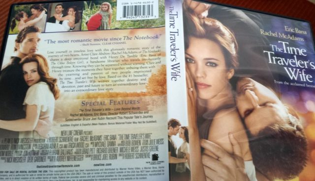 DVD cover of The Time Traveler's Wife