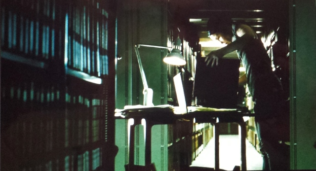 Reel Librarians  |  Screenshot from 'The Girl with the Dragon Tattoo' (2009)