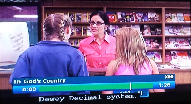 Reel Librarians  |  Screenshot from 'In God's Country' (TV, 2007)