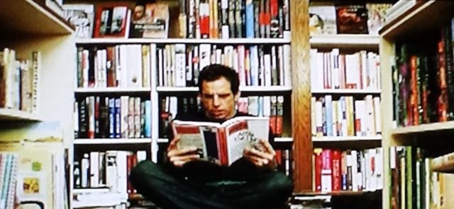 The bookstore, not the library, in a brief scene in Night at the Museum (2006)