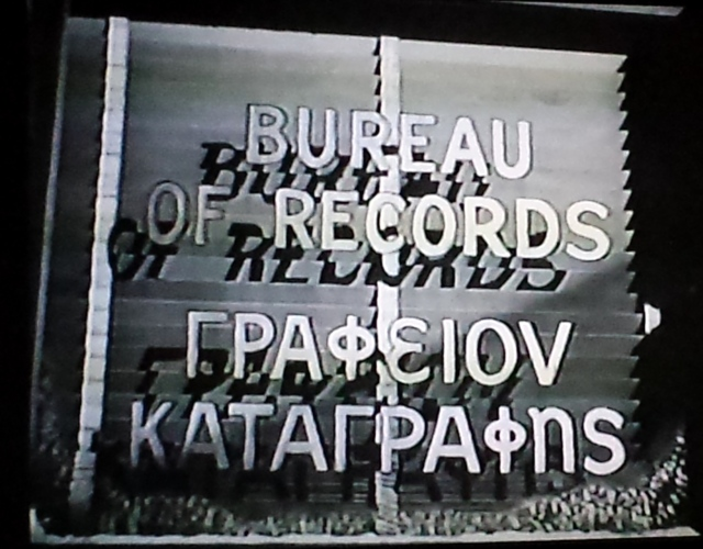 Reel Librarians | Screenshot from 'The Mask of Dimitrios' (1944)