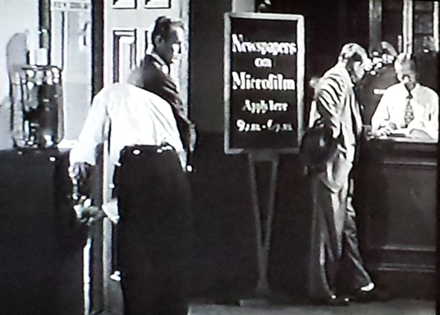 Reel Librarians  |  Screenshot from 'Pickup on South Street'
