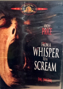 DVD case for From a Whisper to a Scream (1987)