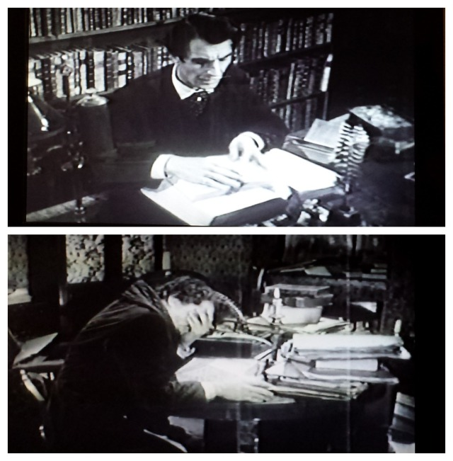 Reel Librarians  |  Screenshots from 'The Tell-Tale Heart' (1960)