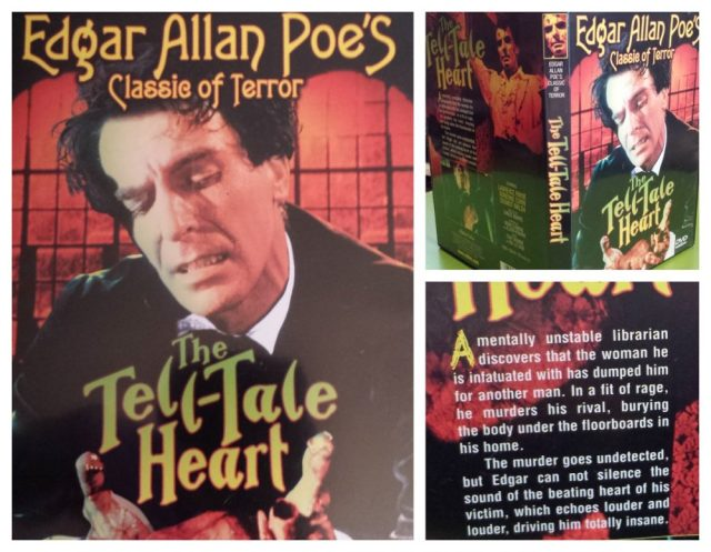 DVD cover of The Tell-Tale Heart (1960)