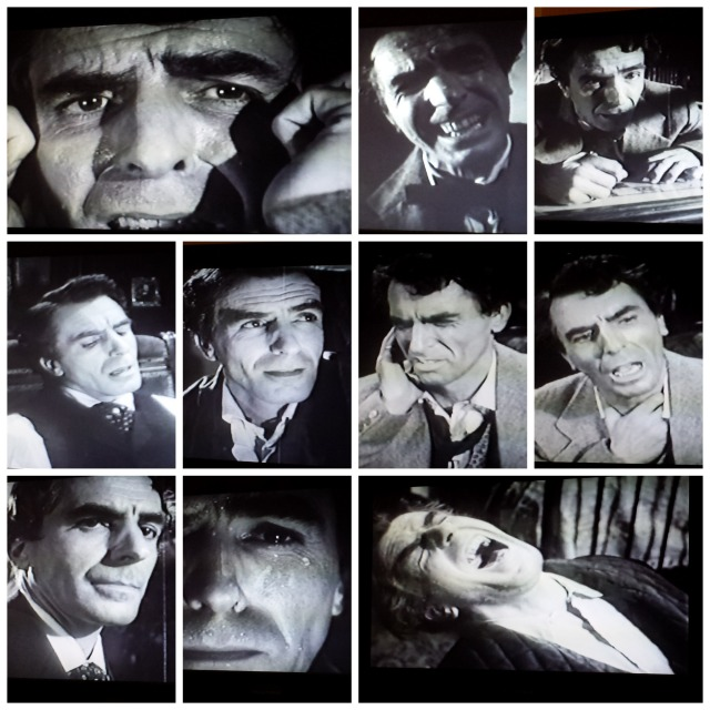 Reel Librarians  |  Facial expressions of the lead actor in 'The Tell-Tale Heart' (1960)
