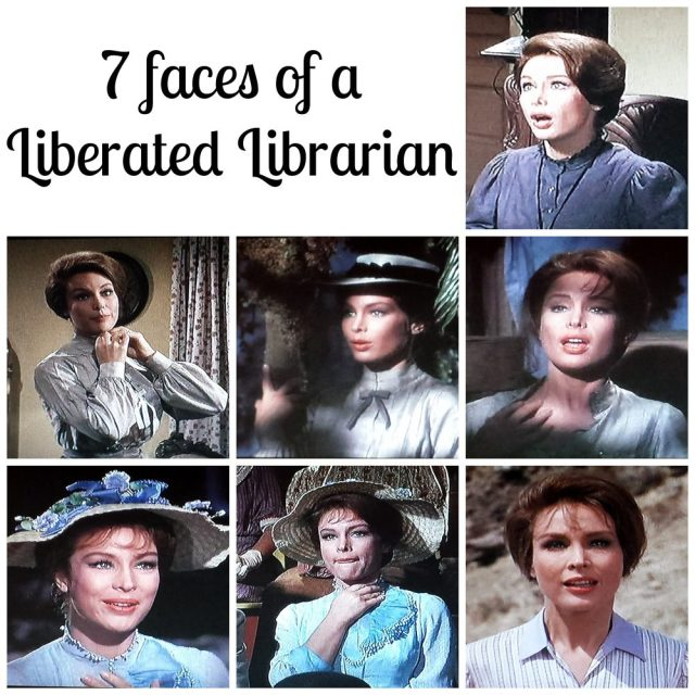 7 faces of a Liberated Librarian
