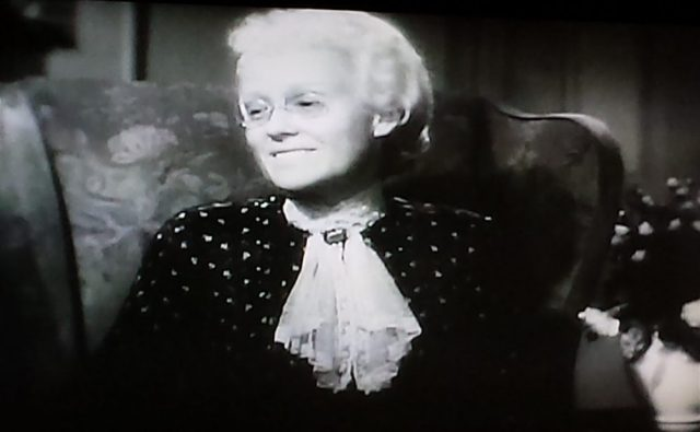 Screenshot from Cheers for Miss Bishop (1941)
