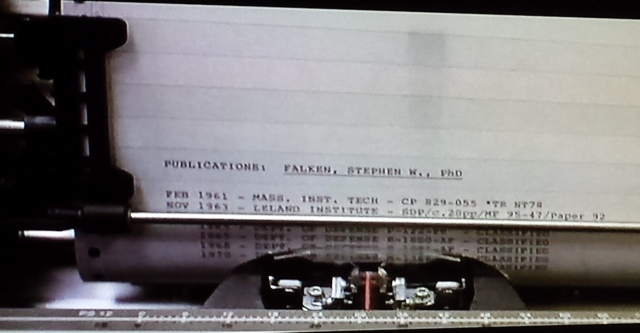 Reel Librarians  |  Screenshot from 'WarGames' (1983)