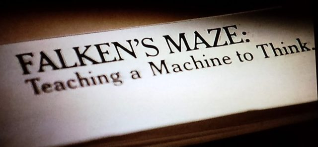 Falken's Maze article closeup