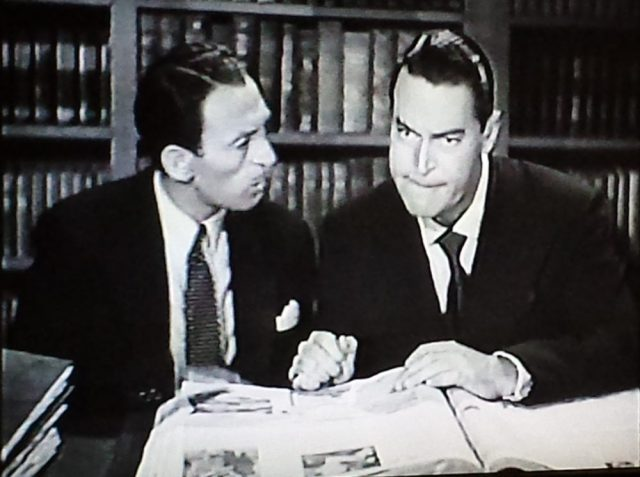 Screenshot from Boston Blackie and the Law