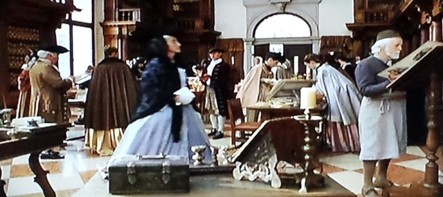 Reel Librarians  |  Screenshot from 'Casanova' (2005)