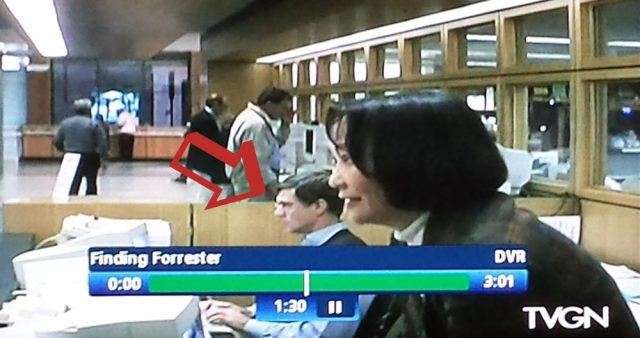 Gus Van San's reel librarian cameo in Finding Forrester