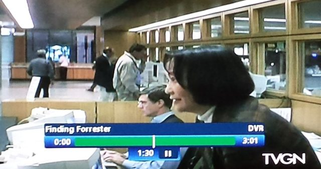Reel librarians in Finding Forrester