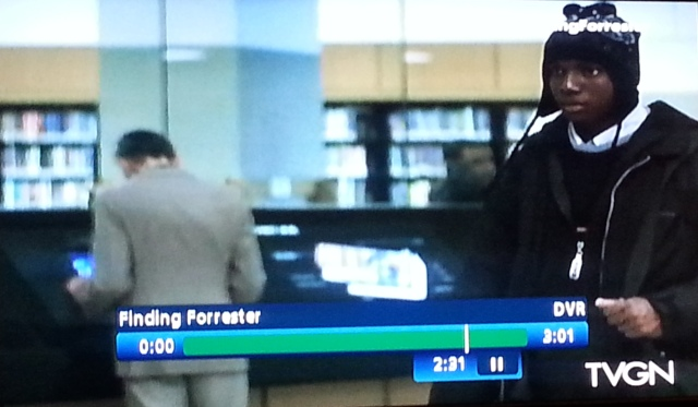 Reel Librarians  |  Screenshot from 'Finding Forrester'