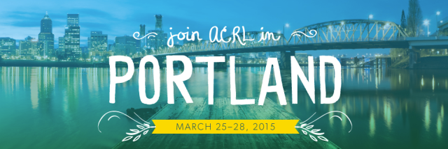 ACRL 2015 Conference logo