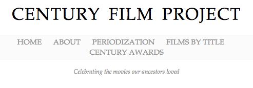 Century Film Project header