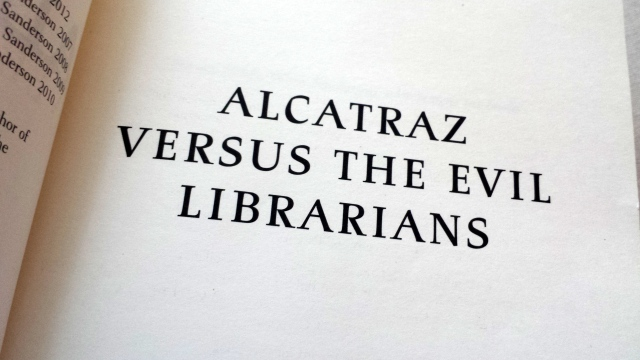 Reel Librarians  |  Title page from 'The Complete Alcatraz'