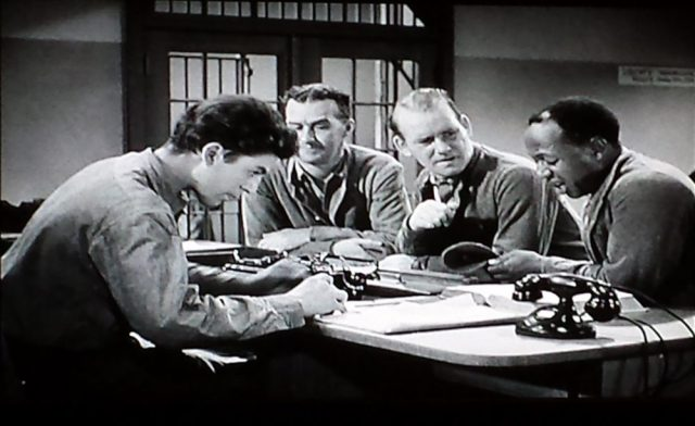 Screenshot from You Can't Get Away with Murder (1939)