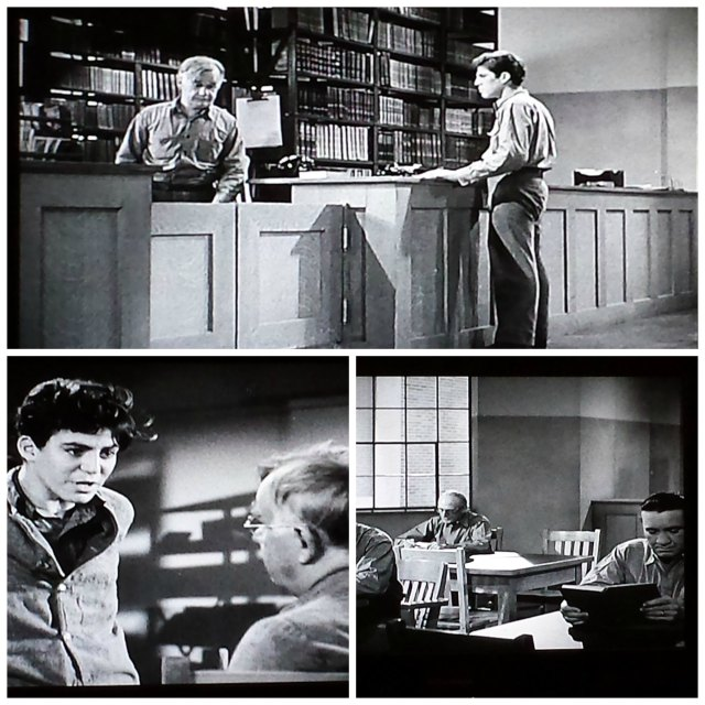 Reel Librarians  |  Screenshots from 'You Can't Get Away with Murder' (1939)