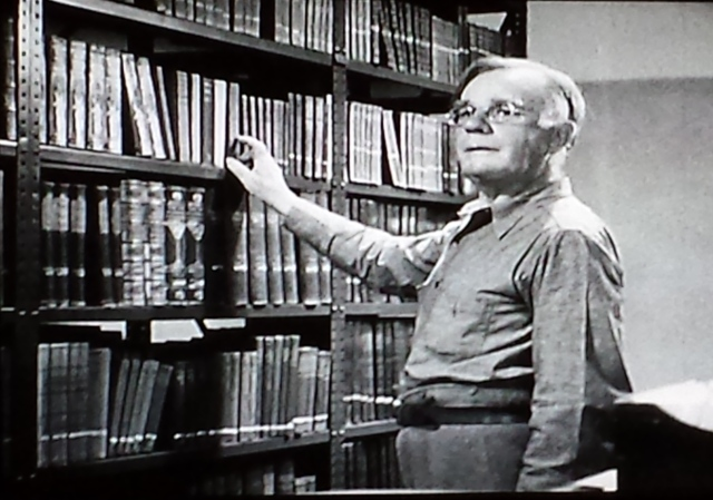 Reel Librarians  |  Screenshot from 'You Can't Get Away with Murder' (1939)