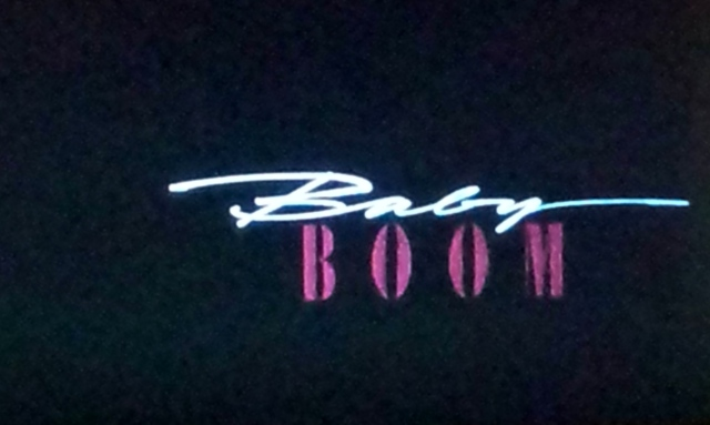 Reel Librarians  |  Title screen for 'Baby Boom' (1987)