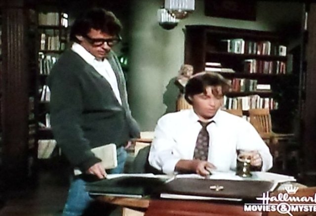 Reel Librarians  |  A screenshot from an episode of 'Murder She Wrote'