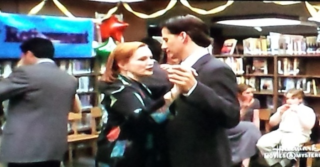 Reel Librarians | Dancing at the Book Lovers' Ball in 'Follow the Stars Home' (TV, 2001)