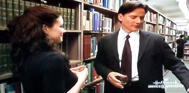 Reel Librarians | Talking in the stacks in 'Follow the Stars Home' (TV, 2001)