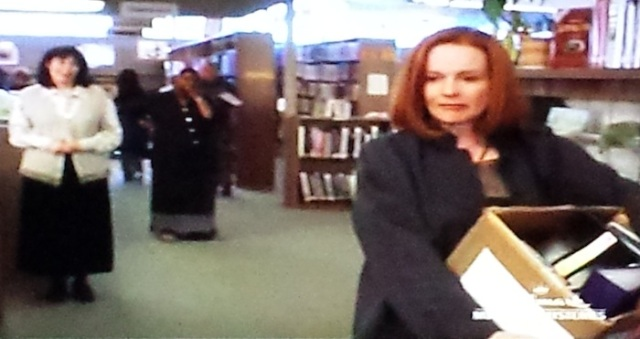 Reel Librarians | Librarian retirement in 'Follow the Stars Home' (TV, 2001)
