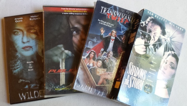 Reel Librarians | Scary movie titles from my personal video collection