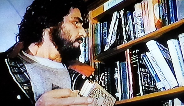 Library research in The Amityville Horror (1979)
