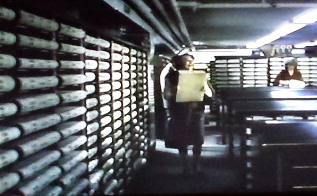 Reel Librarians | Archives room in 'Amityville II: The Possession' (1982)