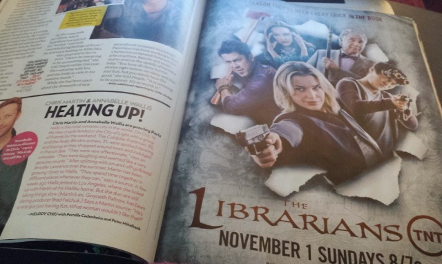 'The Librarians' magazine ad