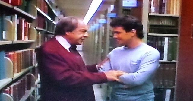 Reel Librarians | Library scene in 'Transylvania Twist' (1989)