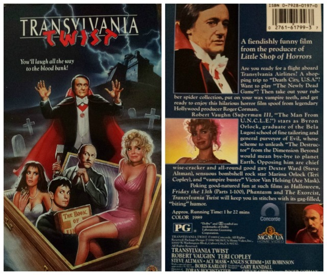 Reel Librarians | VHS cover of 'Transylvania Twist' (1989)