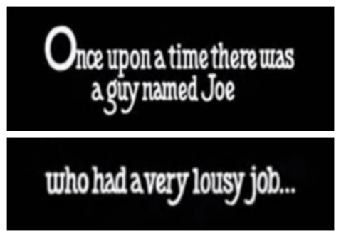 Opening cards of Joe Versus the Volcano (1990)