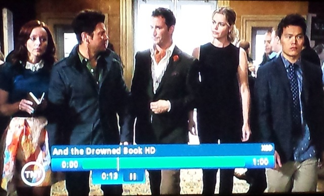 Screenshot from Season 2 premiere of The Librarians