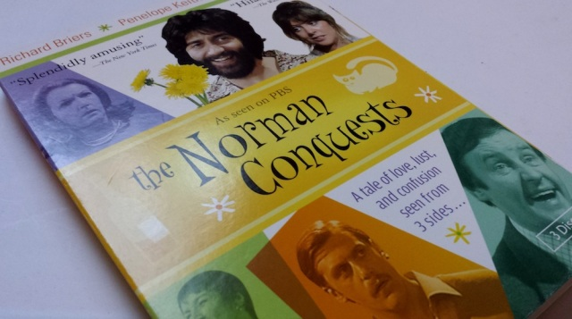 Reel Librarians | DVD case for 'The Norman Conquests' (1977)