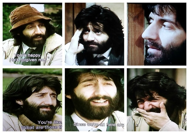 Facial expressions of Norman from The Norman Conquests (1977)