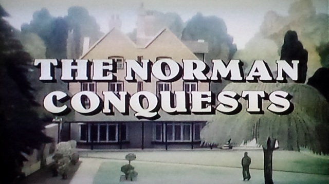 Reel Librarians | Title card from 'The Norman Conquests' (1977)