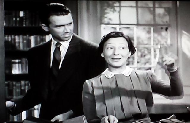 Library scene in The Philadelphia Story (1940)