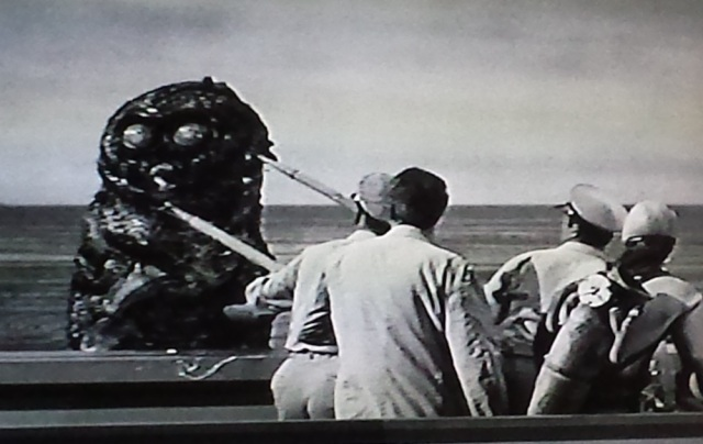 Reel Librarians | Screenshot from 'The Monster That Challenged the World'