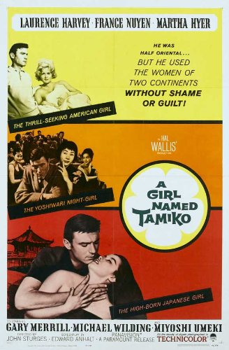 Movie poster for A Girl Named Tamiko in The Paramount Vault