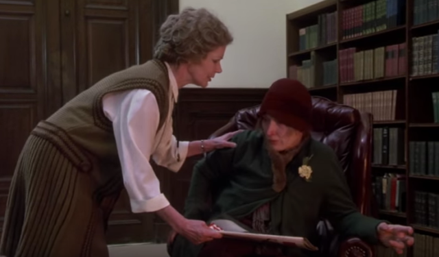 Reel Librarians | Screenshot from 'Ironweed' (1987)