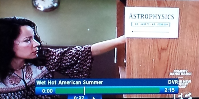 Library scene in Wet Hot American Summer