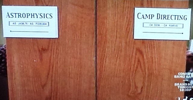 Call numbers in the library scene from Wet Hot American Summer